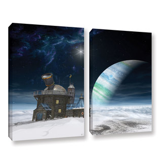 ArtWall Cynthia Decker's Observatory, 2 Piece Gallery Wrapped Canvas Set