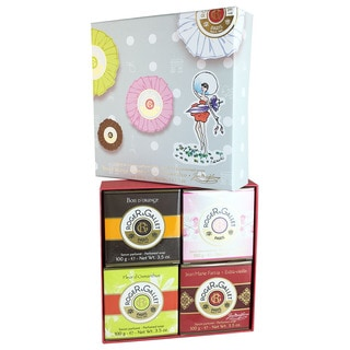 Roger & Gallet Variety 4-piece Soap Gift Set