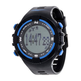 Everlast Fitness Blue Activity Tracker W/LED / Sleep PD2 with Pedometer Watch