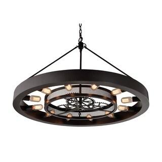 Elk Chronology 12-light LED Chandelier in Oil Rubbed Bronze