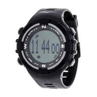 Everlast Fitness Grey Activity Tracker W/LED / Sleep PD2 with Pedometer Watch