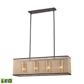 Elk Diffusion 4-light LED Chandelier in Oil Rubbed Bronze