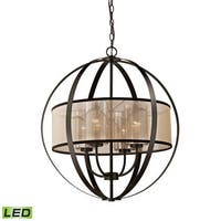 Elk Diffusion 4-light LED Chandelier in Oil Rubbed Bronze - Oil Rubbed Bronze