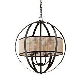 Elk Diffusion 4-light Oil Rubbed Bronze Chandelier