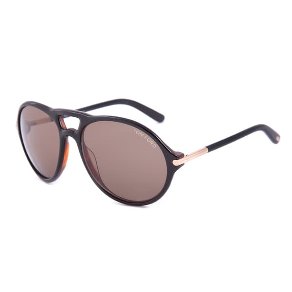 Oversized Oval Sunglasses  tom ford tf245 05j jasper oversized oval sunglasses free
