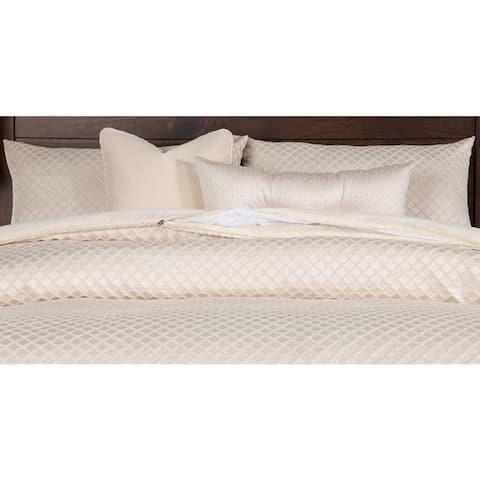 Siscovers Lyra Luxury 6-piece Ivory Bedding Set