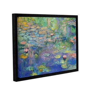 ArtWall Michael Creese's Water, Gallery Wrapped Floater-framed Canvas