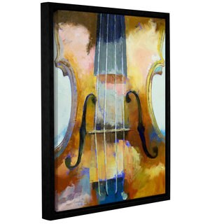 ArtWall Michael Creese's Violin, Gallery Wrapped Floater-framed Canvas
