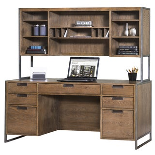 Bellflower Desk and Hutch