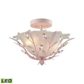 Elk Circeo 2-light LED Semi Flush In-light LED Pink