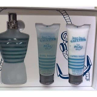 Jean Paul Gaultier Le Beau Fraicheur Intense Men's 3-piece Gift Set