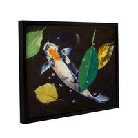 ArtWall Michael Creese's Kumonryu Koi, Gallery Wrapped Floater-framed Canvas