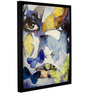 ArtWall Michael Creese's Gothic Butterflies, Gallery Wrapped Floater-framed Canvas