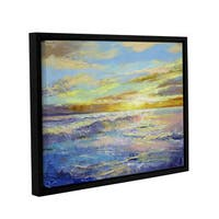 ArtWall Michael Creese's Florida Sunrise, Gallery Wrapped Floater-framed Canvas