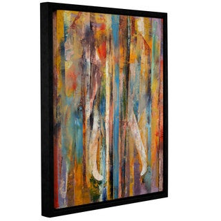 ArtWall Michael Creese's Elephant, Gallery Wrapped Floater-framed Canvas