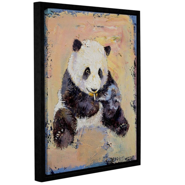 ArtWall Michael Creese's Cigarette Break, Gallery Wrapped Floater-framed Canvas
