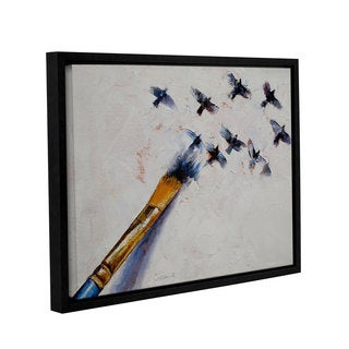 ArtWall Michael Creese's Birds, Gallery Wrapped Floater-framed Canvas
