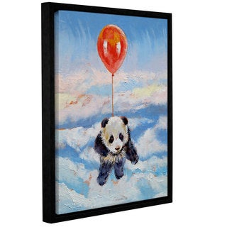 ArtWall Michael Creese's Balloon Ride, Gallery Wrapped Floater-framed Canvas