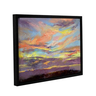 ArtWall Michael Creese's Atahualpa Sunset, Gallery Wrapped Floater-framed Canvas