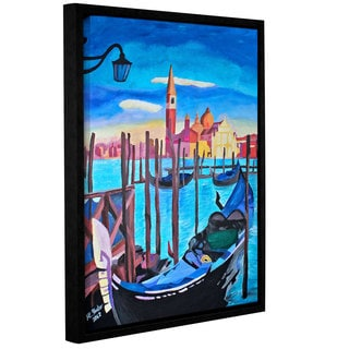 ArtWall Marcus/Martina Bleichner's San Giorgio Maggiore of Venice, Gallery Wrapped Floater-framed Canvas