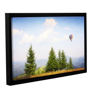 ArtWall Dragos Dumitrascu's Up High, Gallery Wrapped Floater-framed Canvas