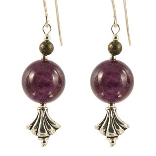 Allure of Amethyst Earrings