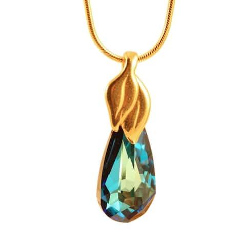 Dew Drop Crystal Necklace