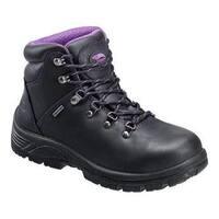 Women's Avenger A7124 Steel Toe EH Waterproof Hiker Black Leather