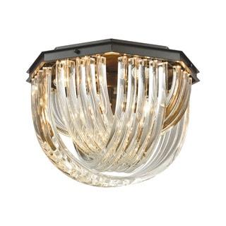 Elk Optalique 7-light LED Flush in Oil Rubbed Bronze