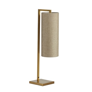 INK+IVY Fio Gold Metal Table Lamp