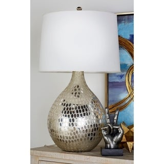 New Traditional Pearl Glass Table Lamp