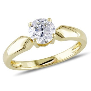 Miadora Signature Collection 14k Yellow Gold 3/4ct TDW Diamond Solitaire Ring