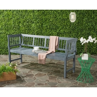 Safavieh Brentwood Outdoor Grey Bench
