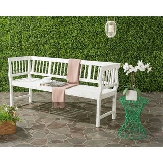 Safavieh Brentwood Outdoor Antique/ White Bench