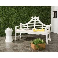 Safavieh Azusa Outdoor Antique/ White Bench