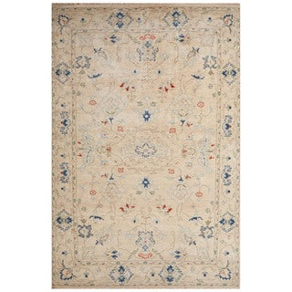 Hand-Knotted Oriental White Area Rug (2' X 3')