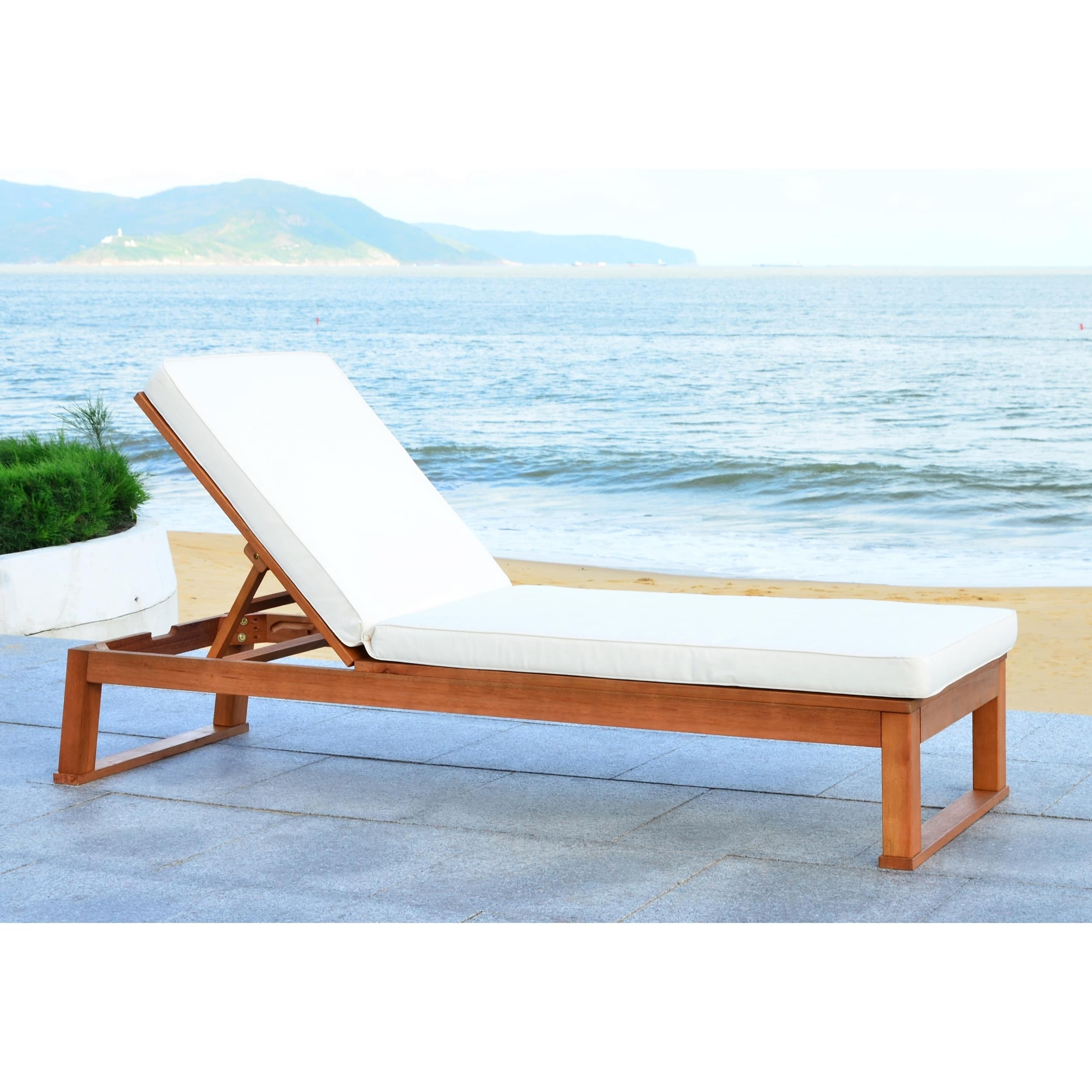 Buy Outdoor Chaise Lounges Online at Overstock | Our Best ... on Safavieh Outdoor Living Solano Sunlounger id=27862