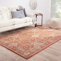 Hand-Knotted Oriental Red Area Rug (2' X 3') - 2' x 3'