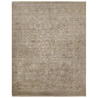 Hand-Knotted Oriental Gray/ Silver Area Rug (9' X 12') - 9' x 12'
