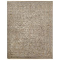 Hand-Knotted Oriental Gray/ Silver Area Rug (10' X 14')