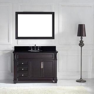 Virtu USA Victoria 48-inch Single Bathroom Vanity Cabinet Set
