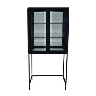 Aurelle Home Pickett 2-Door Cabinet