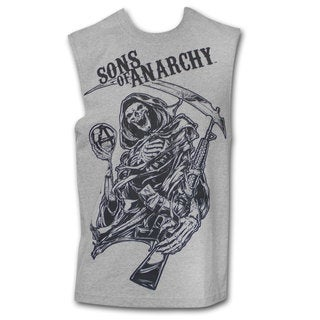 Sons Of Anarchy Grey New Reaper Men's Tank Top