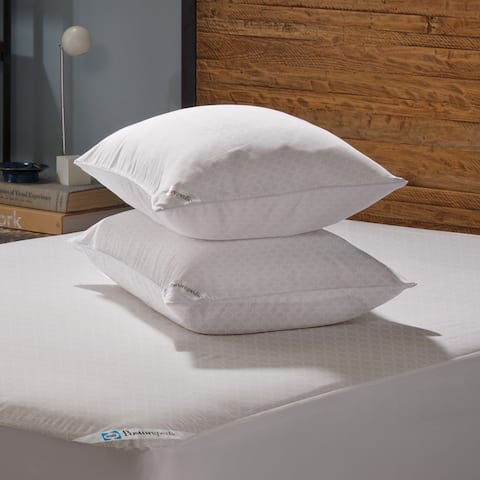Sealy Posturepedic Allergy Microfiber Pillow Protector (Set of 2) - White