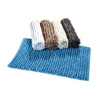 Saffron Fabs Bubbles Bath Rug
