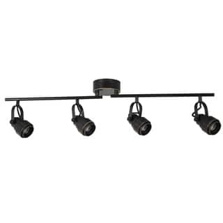 Track lighting lighting for less clearance liquidation overstock clearance catalina 19193 000 4 light led adjustable fixed track luminaire aloadofball Choice Image