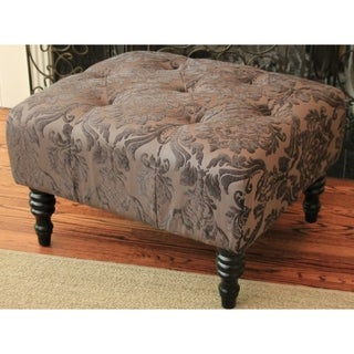 HD Couture Swansea Mink St. Honore Ottoman