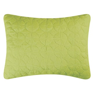 Green Mara Cotton Standard or Euro Sham