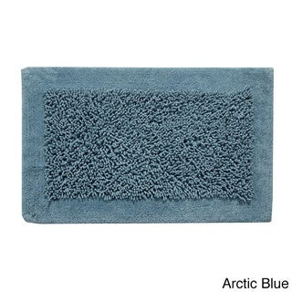 Saffron Fabs Cotton and Chenille Lima Bath Rug (Set of 2)