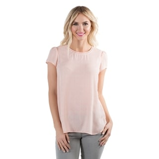 DownEast Basics Women's Spring Petal Blouse